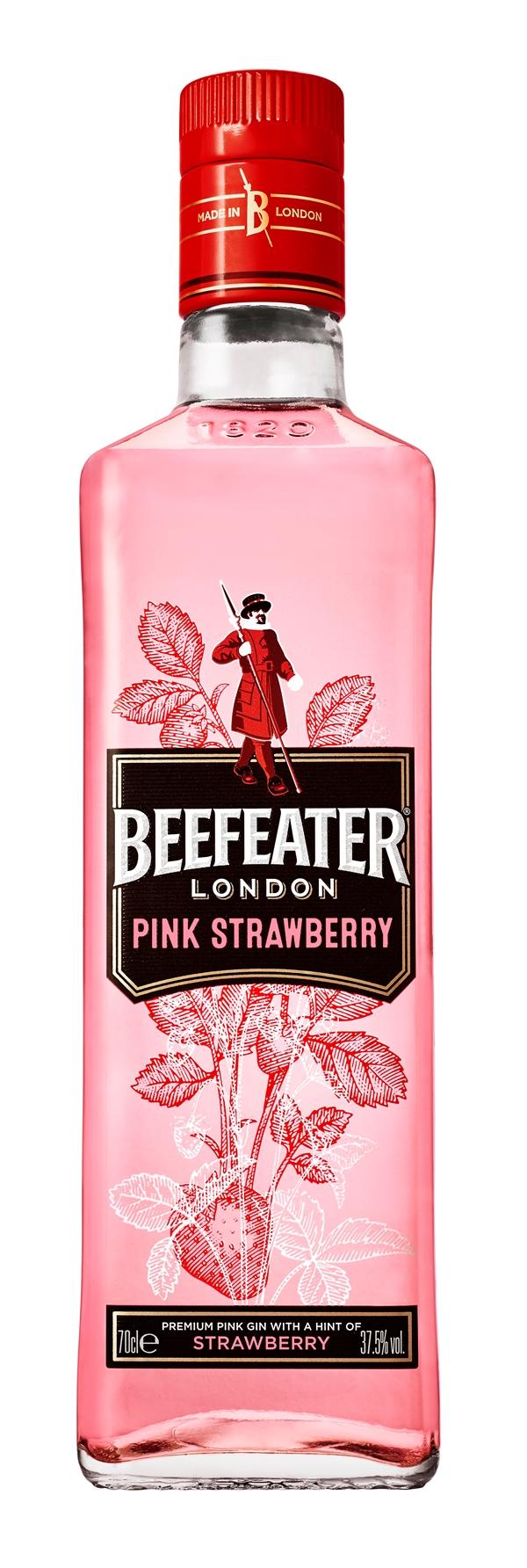 Специально к Ту бе-ав: Beefeater Pink – Strawberry