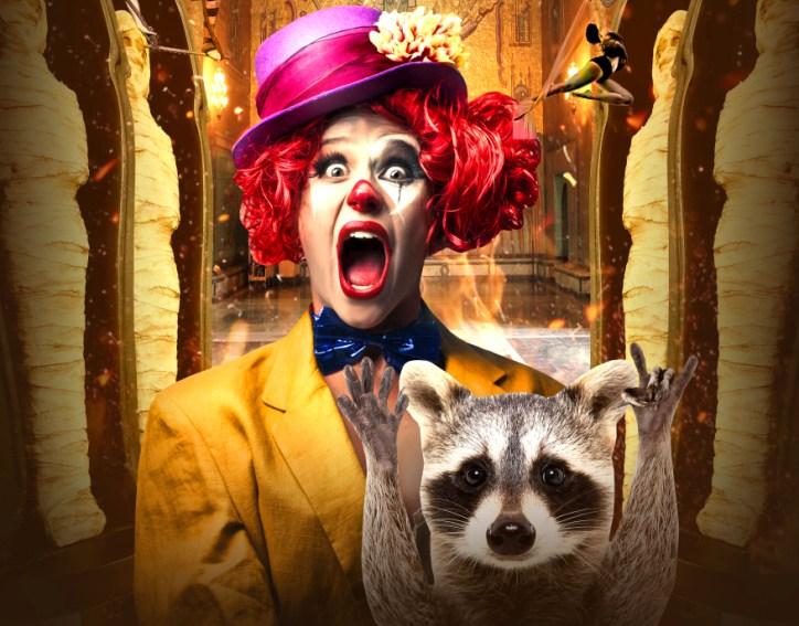 Цирк «Браво» представляет в ближайшие каникулы на Суккот: «Безумная ночь в музее» – виртуозное цирковое представление с захватывающим сюжетом
