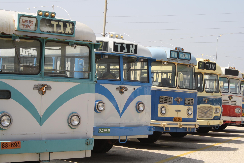 Почувствуйте себя пассажиром самого первого автобуса в Израиле!