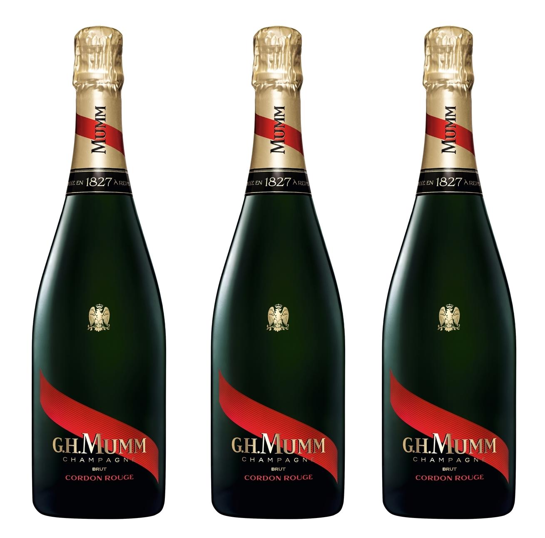Шампанское к Новому году – G.H. Mumm Cordon Rouge