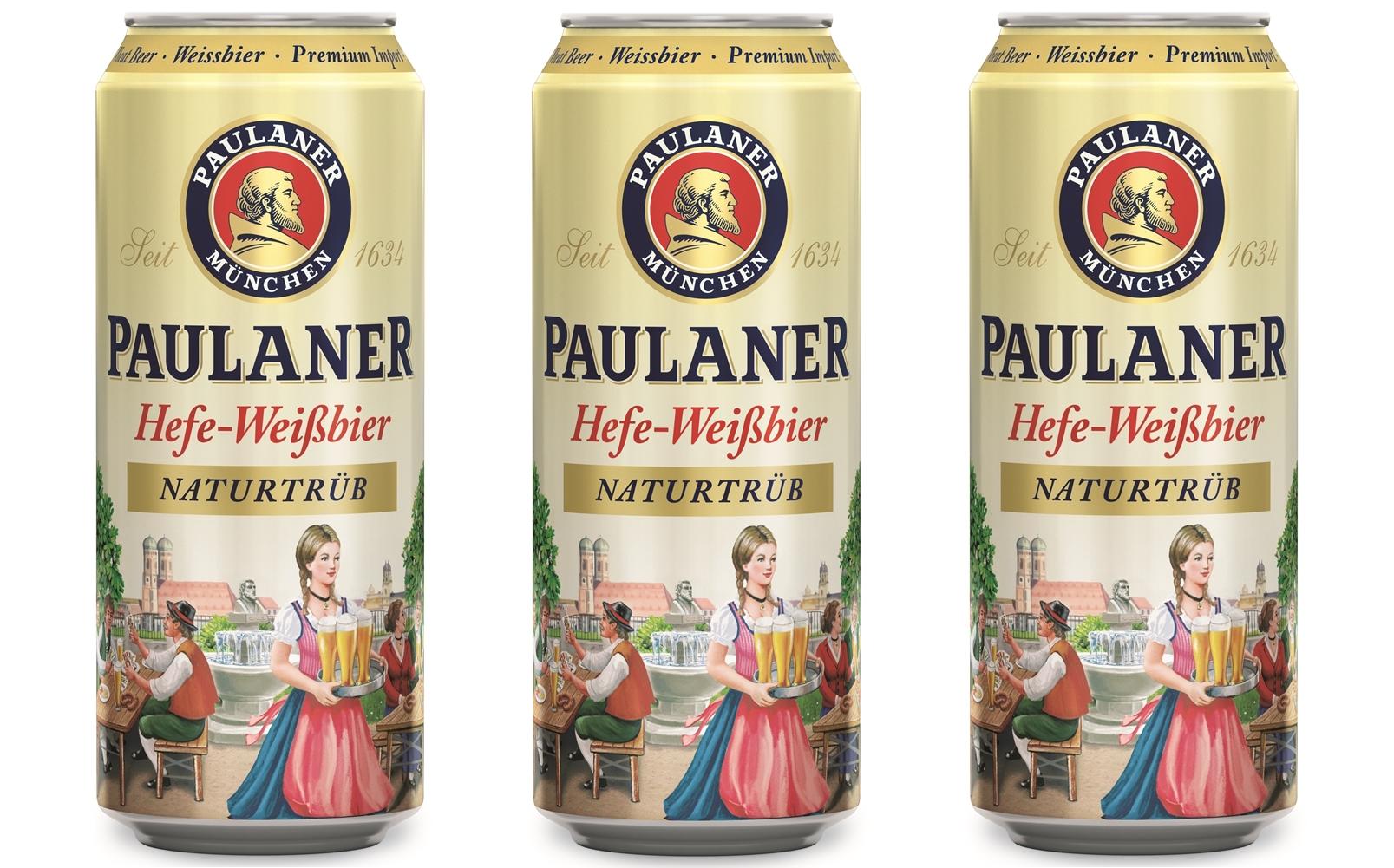 Paulaner – любимый вкус в новой упаковке