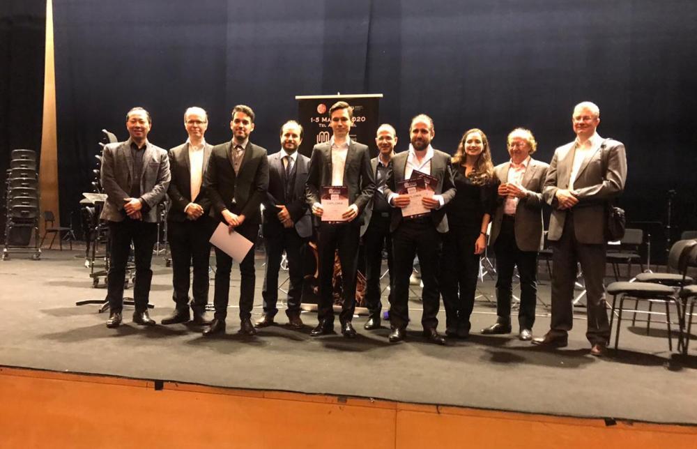Названы победители конкурса молодых исполнителей на духовых инструментах Classic Winds
