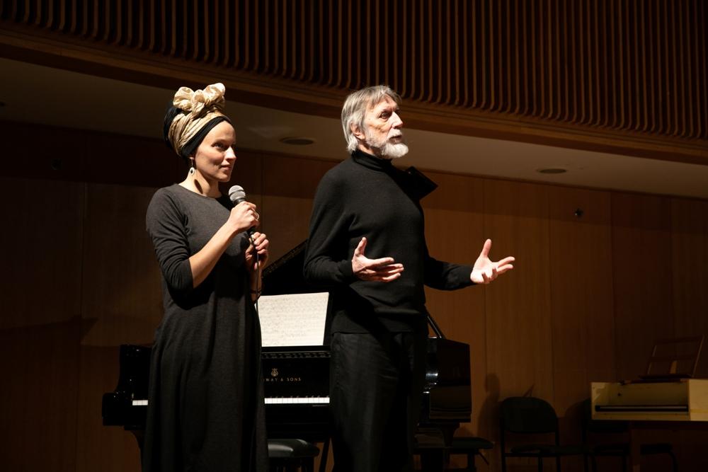 Генри Перселл и Владимир Мартынов на Фестивале M.ART в Тель-Авивской консерватории Татьяны Гринденко