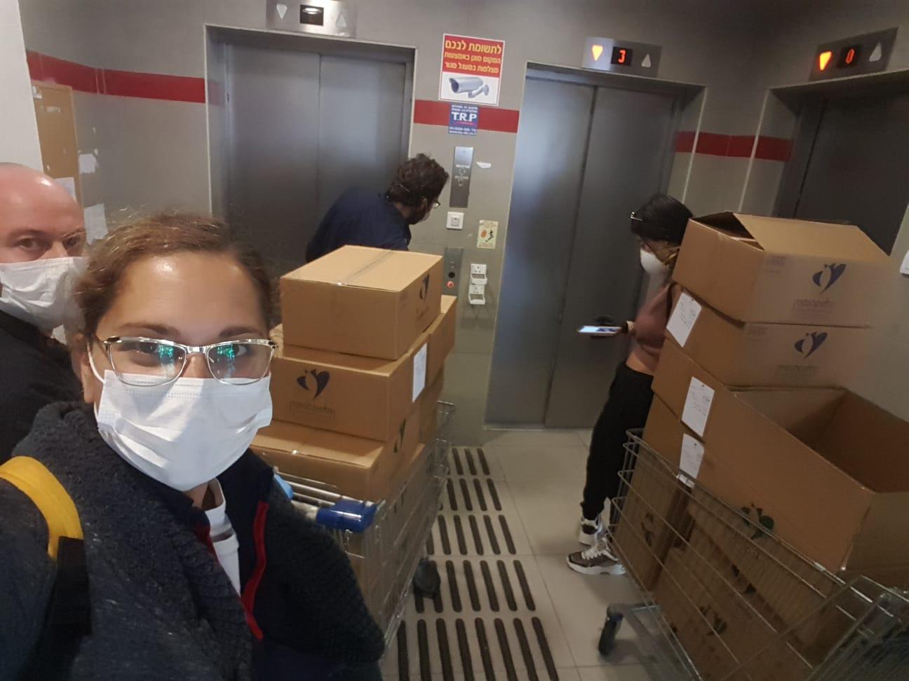 Ришон ле-Цион: волонтеры помогут старикам по время эпидемии