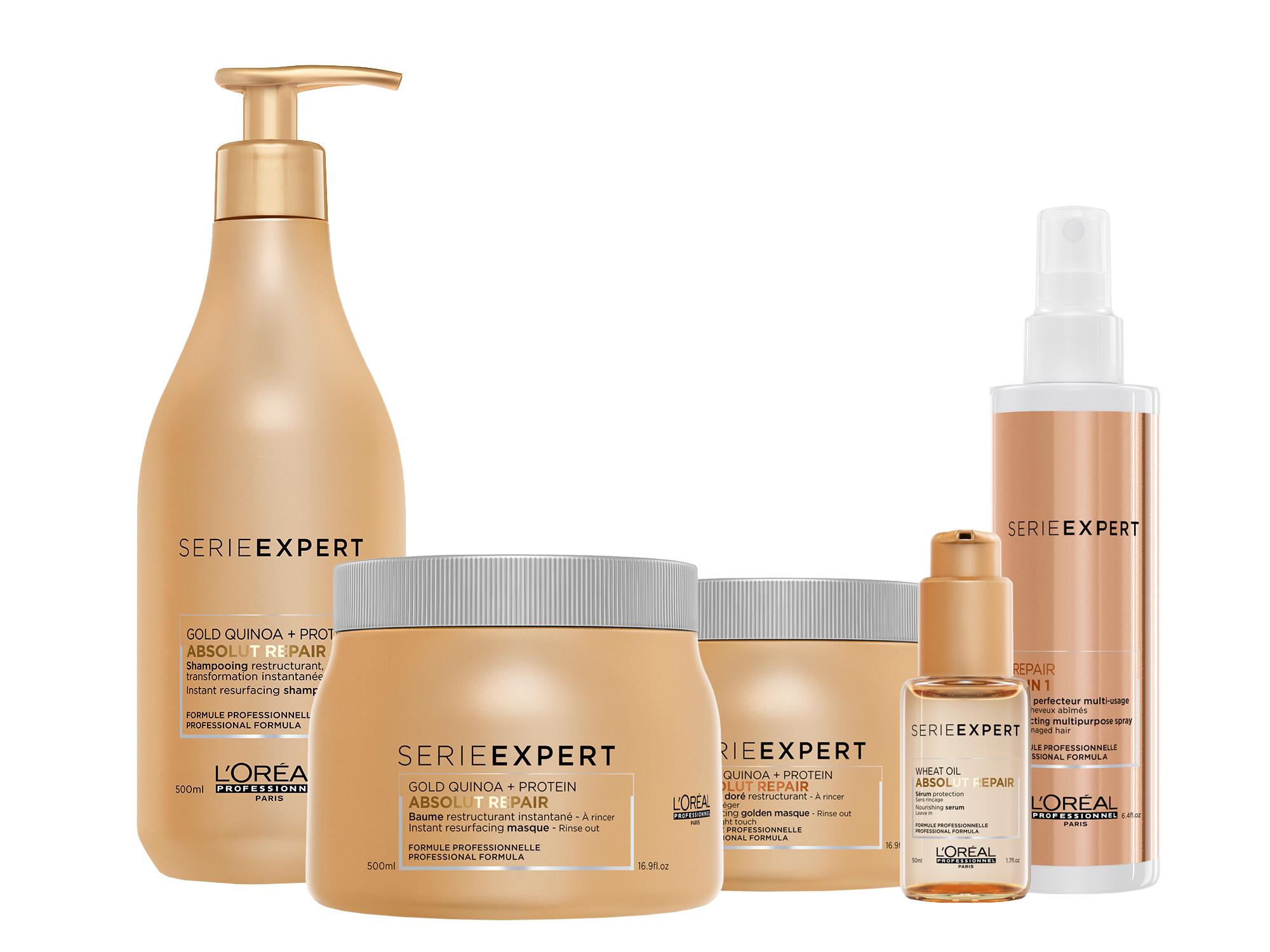 Новинка от L'Oreal для интенсивного восстановления поврежденных волос