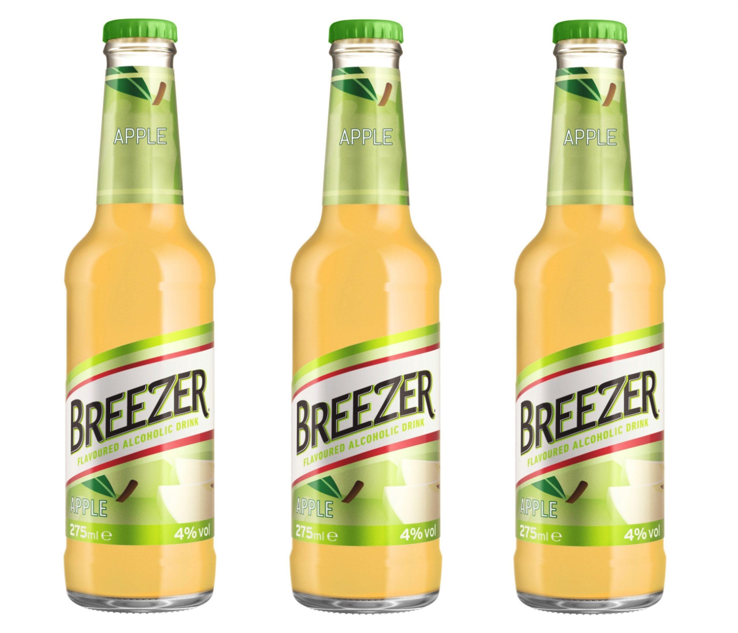 Breezer – теперь и яблочный