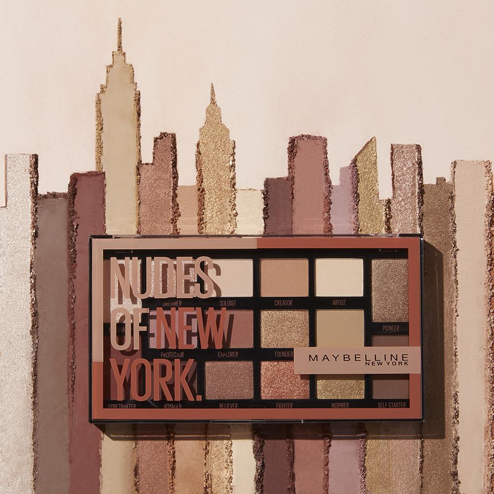 #Beauty_новинка от Maybelline: Nudes of NY