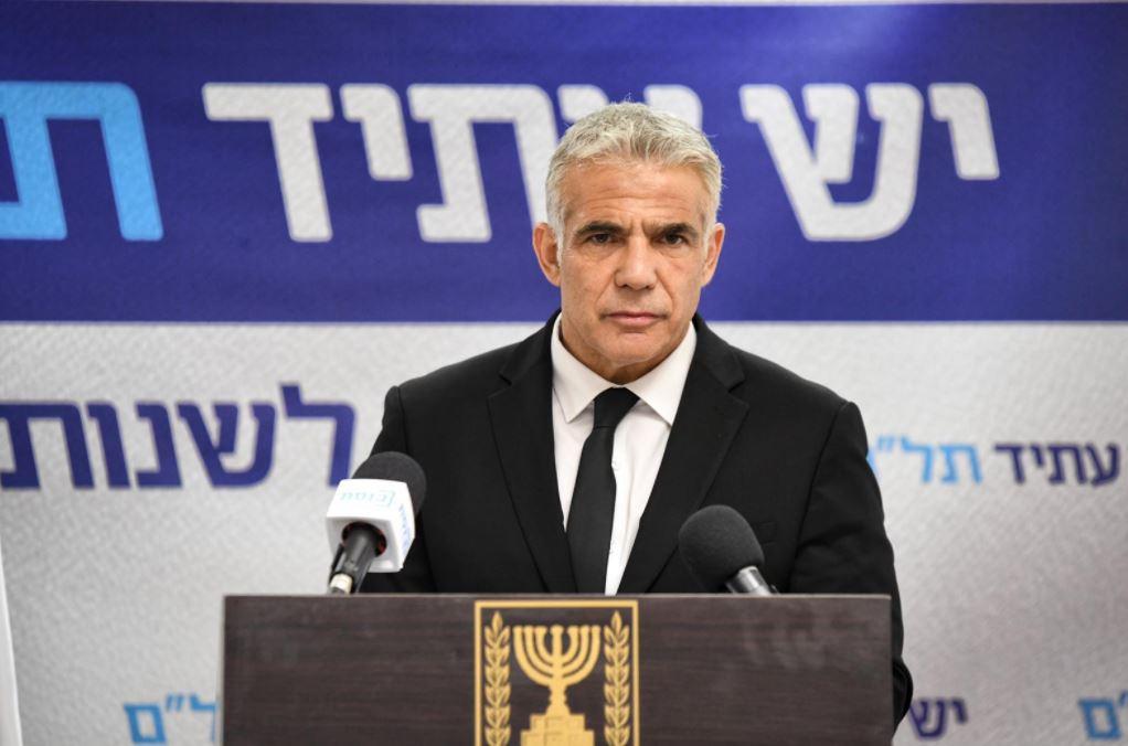 Яир Лапид: «Премьер-министр с обвинительными заключениями по сути превращается в обвинительные заключения с премьер-министром»