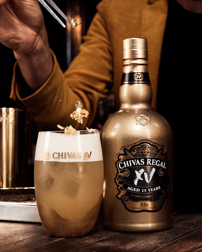 Chivas в золотом к Новому году