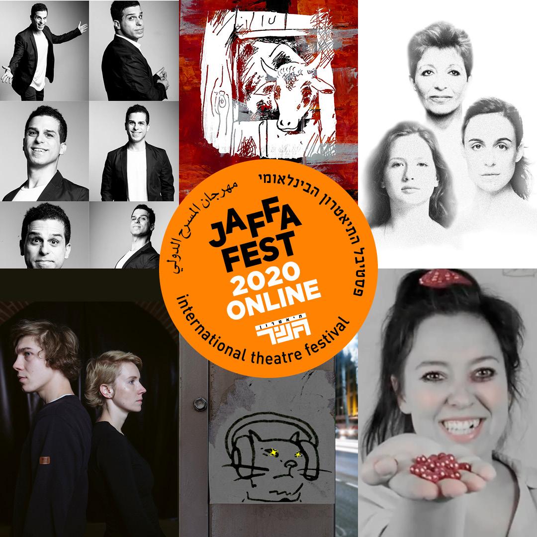 С 3 по 8 декабря Гешер впервые проведет международный театральный фестиваль Jaffa Fest в режиме онлайн. Зрителей ждет специальная программа, составленная для нового формата, аудио и видео постановки, прямые трансляции, а также спектакли на русском языке