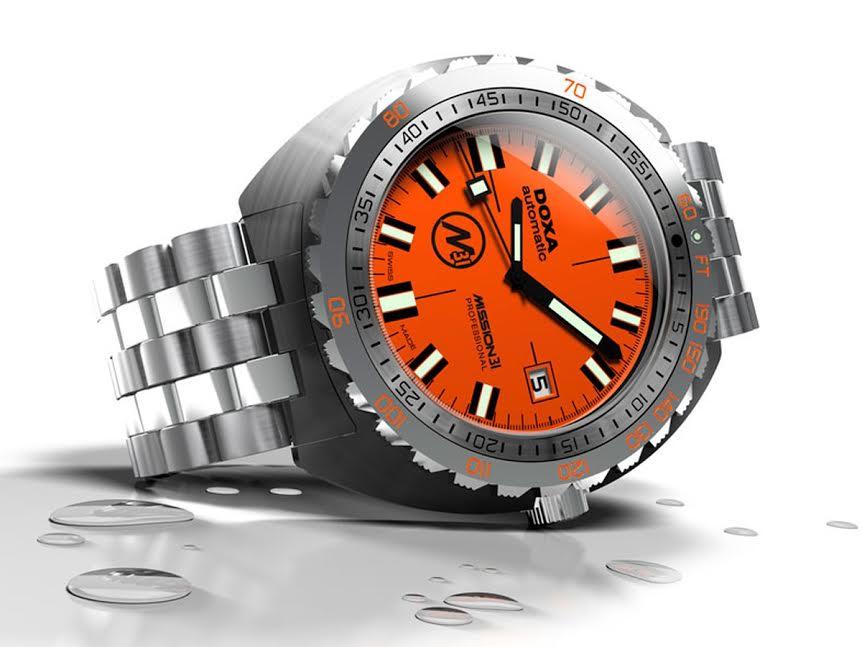 Часы DOXA SUB – новый рекорд!