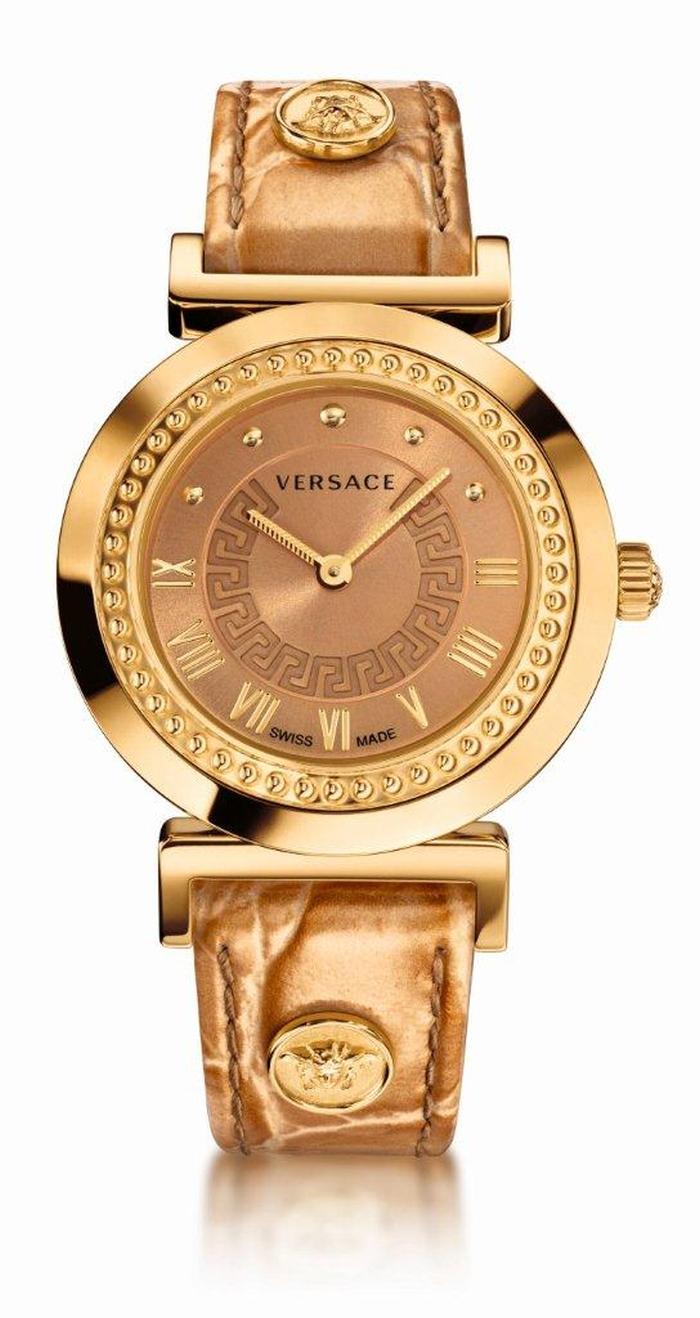 Часы Versace Vanity – золотая версия