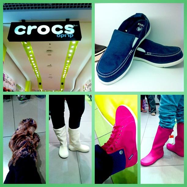 Зимой в «Crocs» стильно и гламурно!