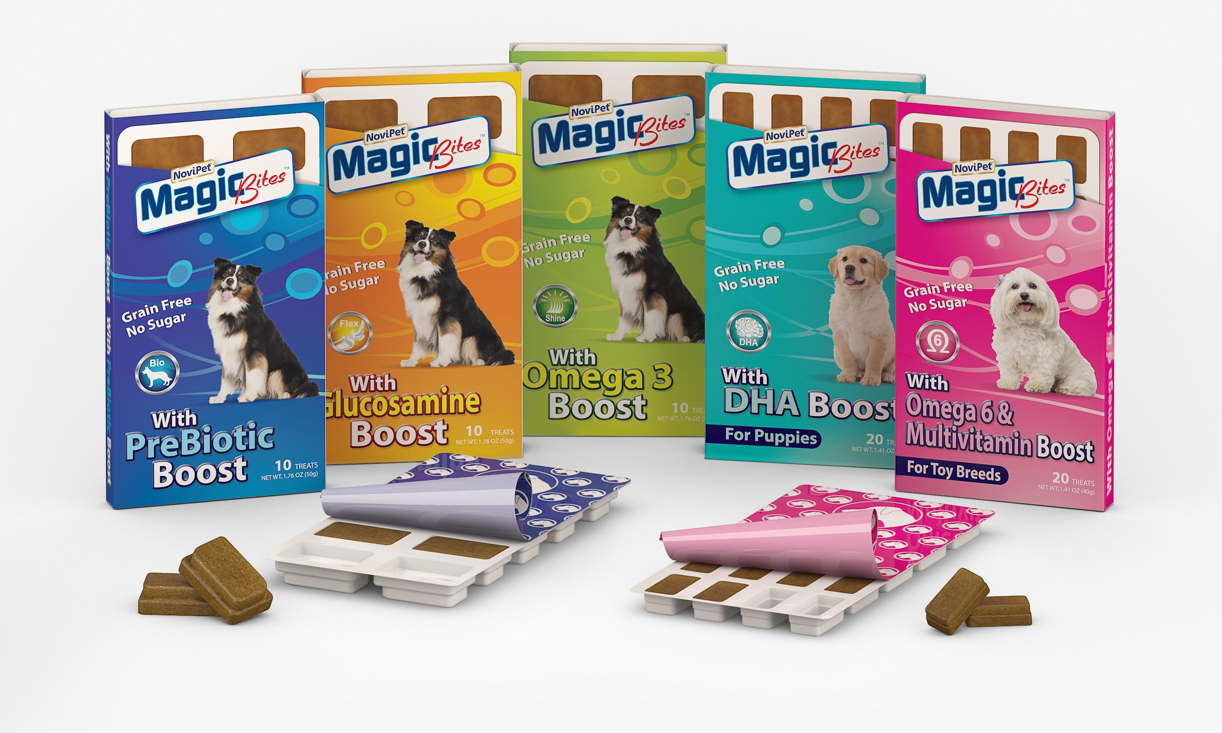Новые витаминизированные батончики для собак