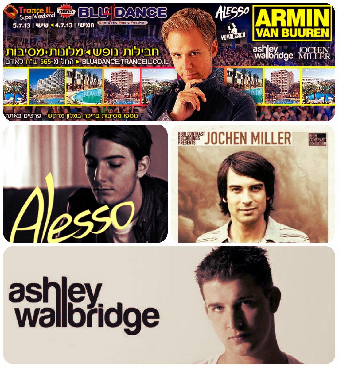 Armin Van Buuren & Alesso в Эйлате