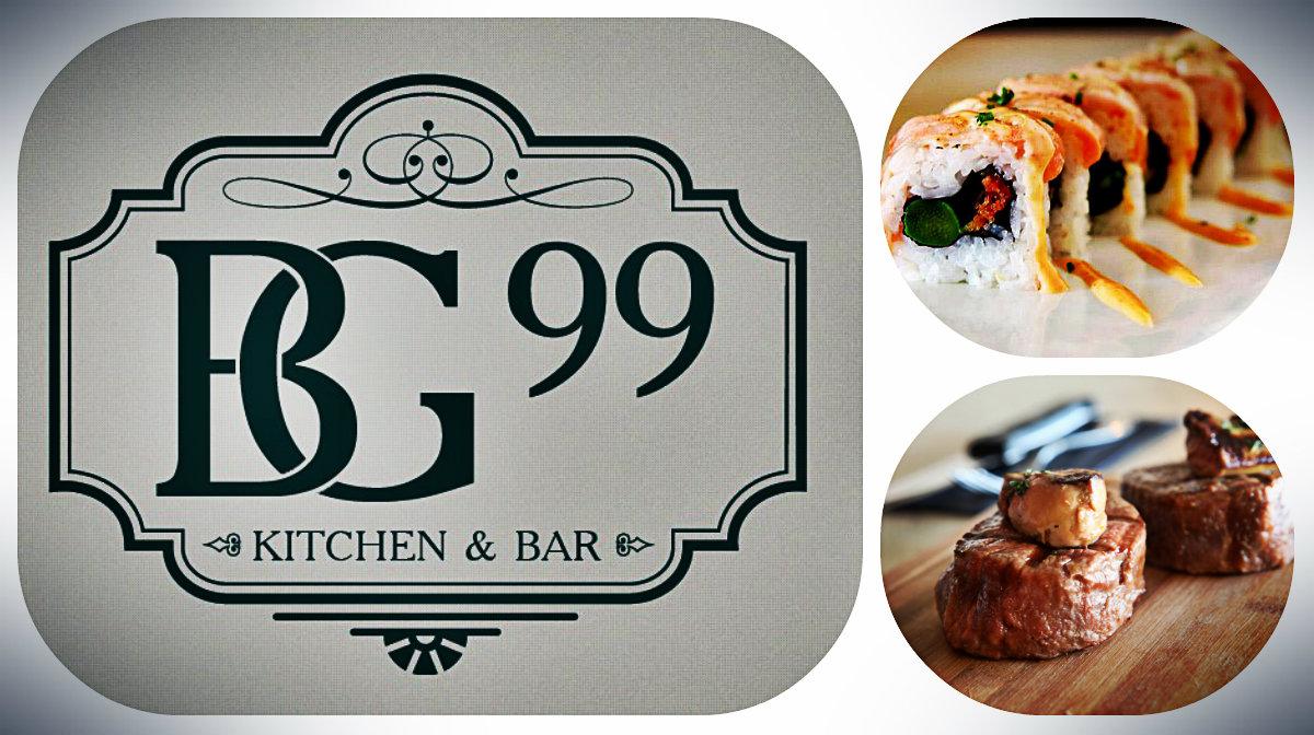Новое меню в ресторане BG99 kitchen&bar