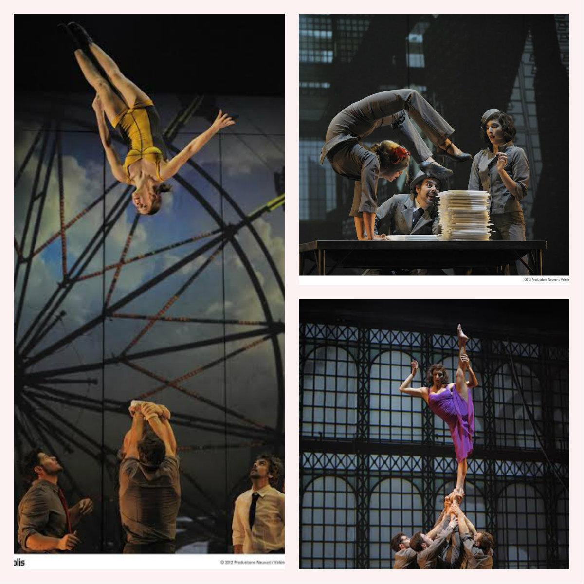 Знаменитый канадский Cirque Eloize начал свои гастроли в Израиле