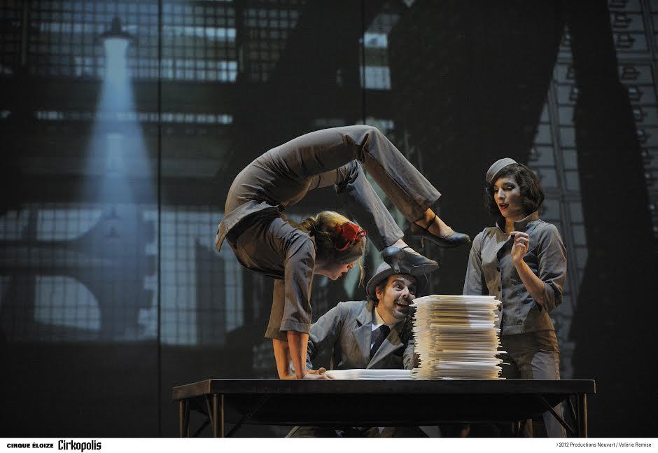 Впервые в Израиле. Знаменитый канадский Cirque Eloize