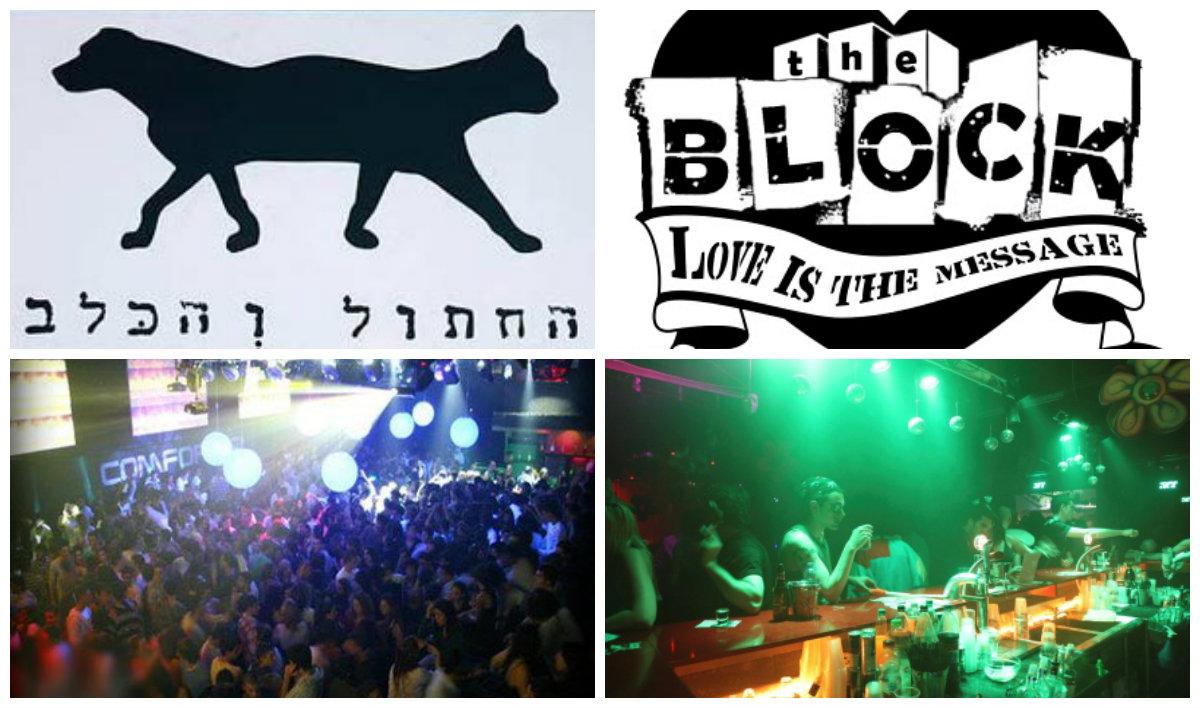 Закрытие 6 ночных клубов в Тель-Авиве