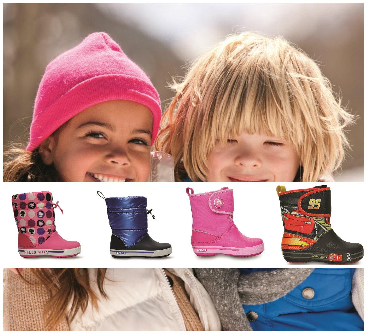 Crocs: лучшие резиновые сапоги для детей!