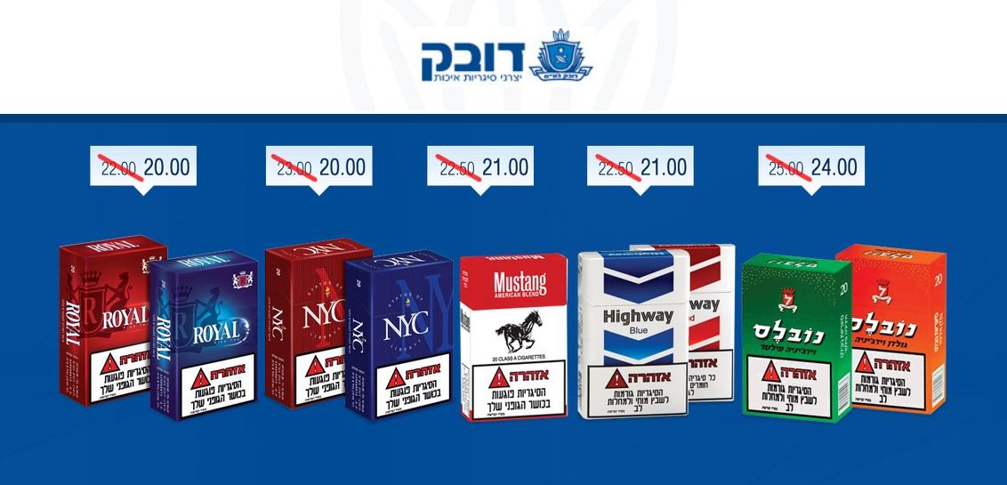 Dubek: табачный концерн снижает цены на сигареты