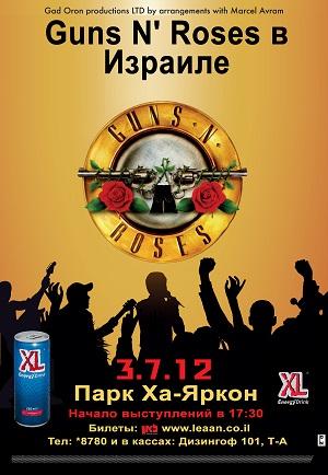 История возвращается группа 'Guns N' Roses'