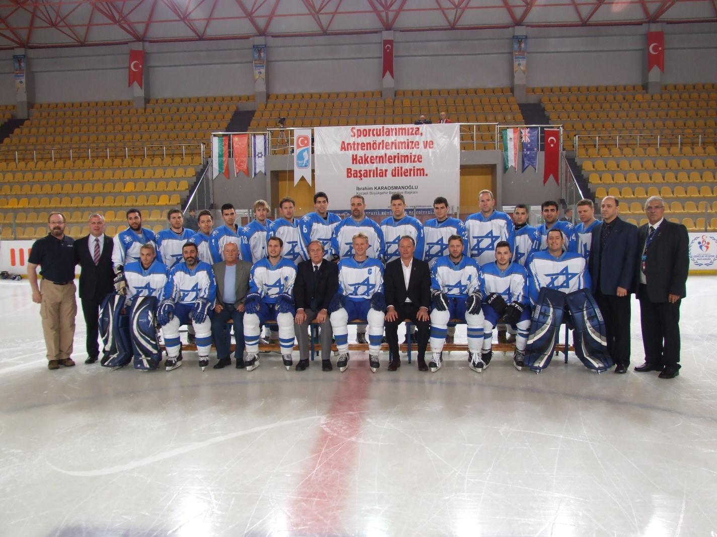 Хоккей в Израиле: успехи национальной сборной