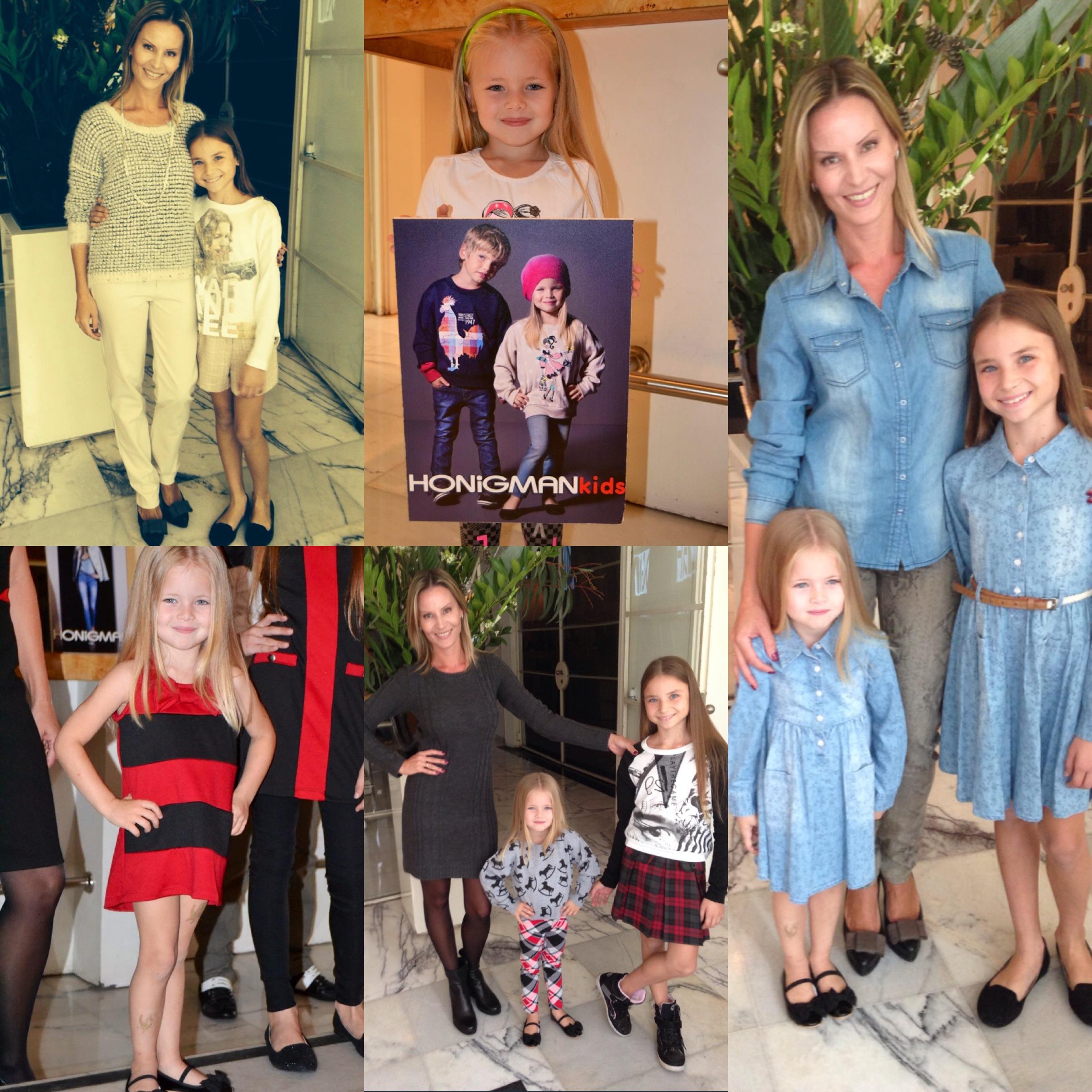 Единство стиля для мам и детей от Honigman и Honigman Kids