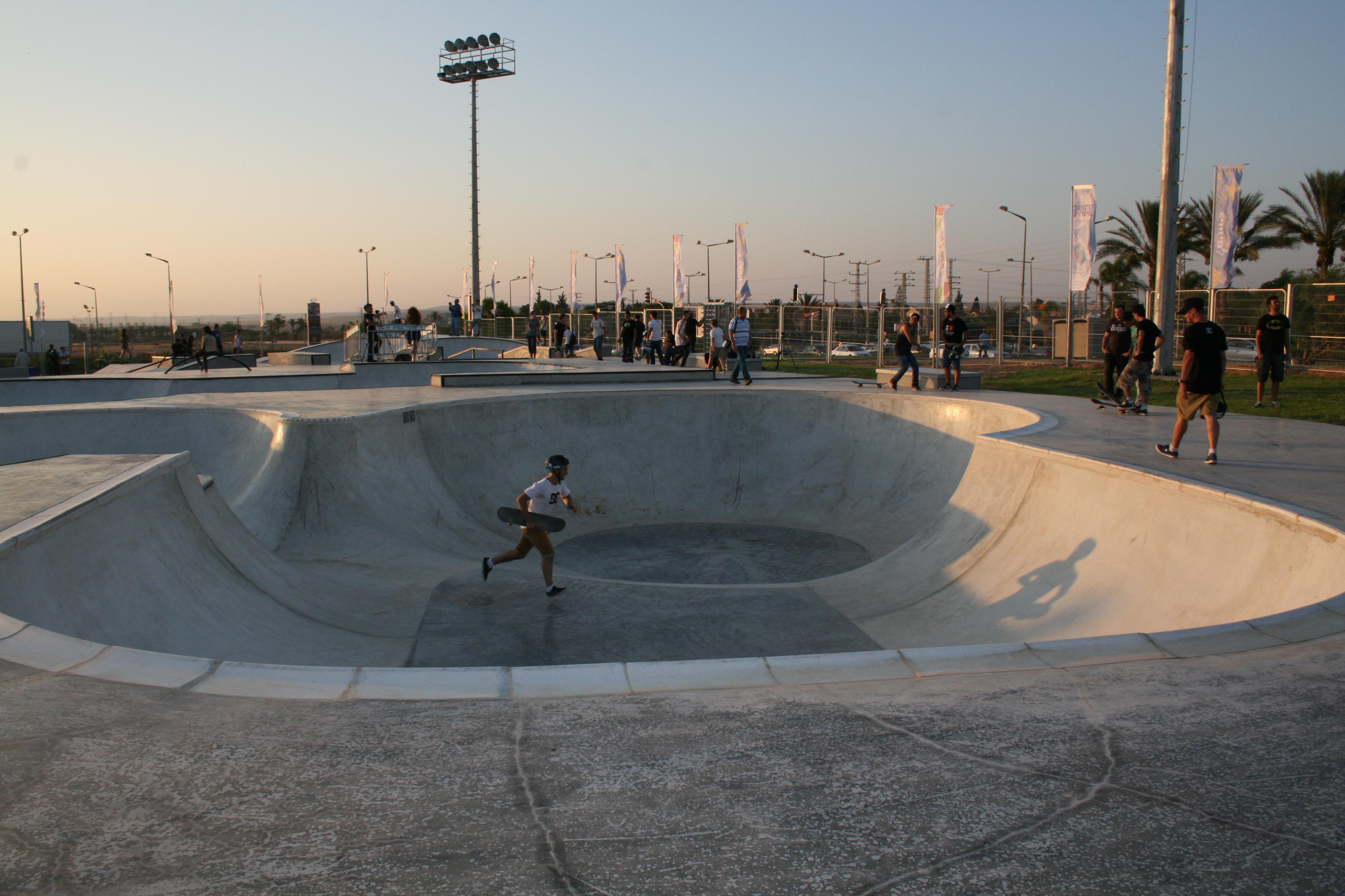 В Беэр-Шеве открылся скейт-парк