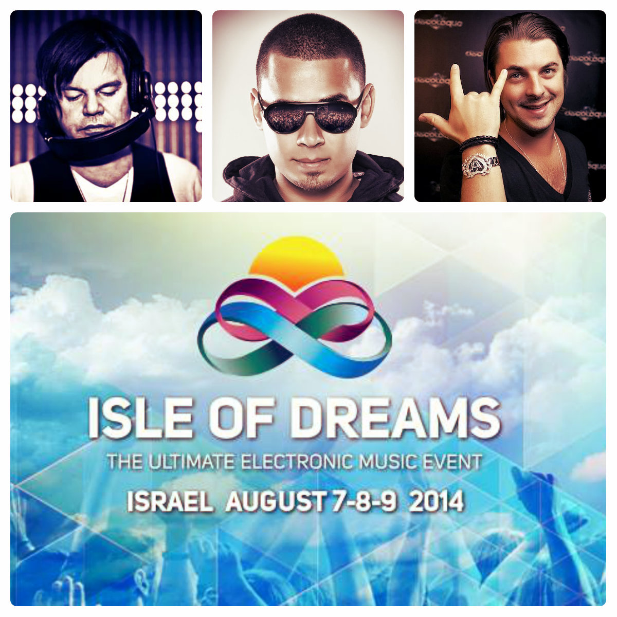 Isle Of Dreams. Axwell, Afrojack & Paul Oakenfold