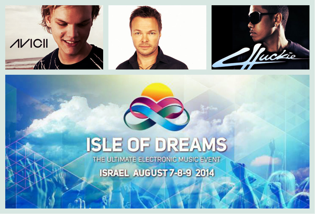 Isle Of Dreams. Avicii, Chuckie & Pete Tong