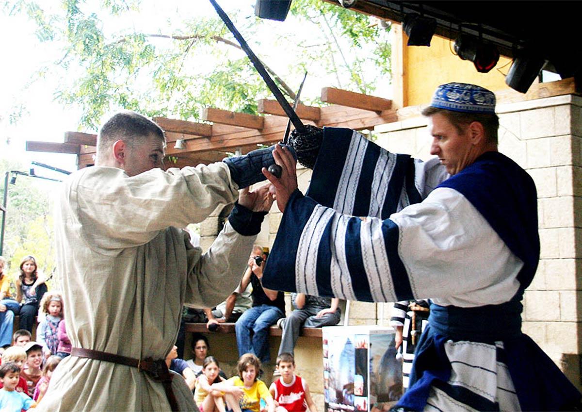 """""""Рыцари Иерусалима"""" – фестиваль на Суккот в Эйн-Яэль"""