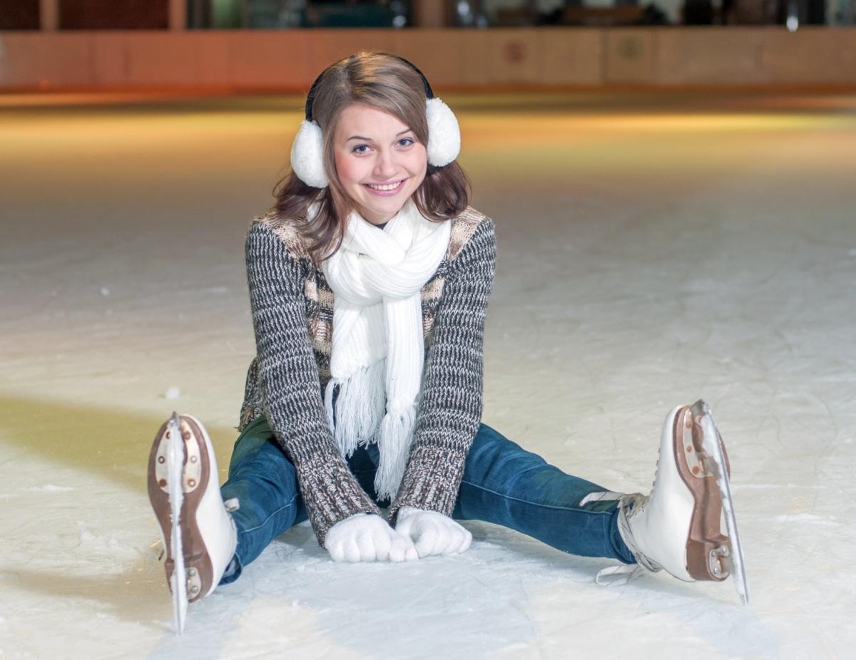 Стильная, модная, на коньках!
