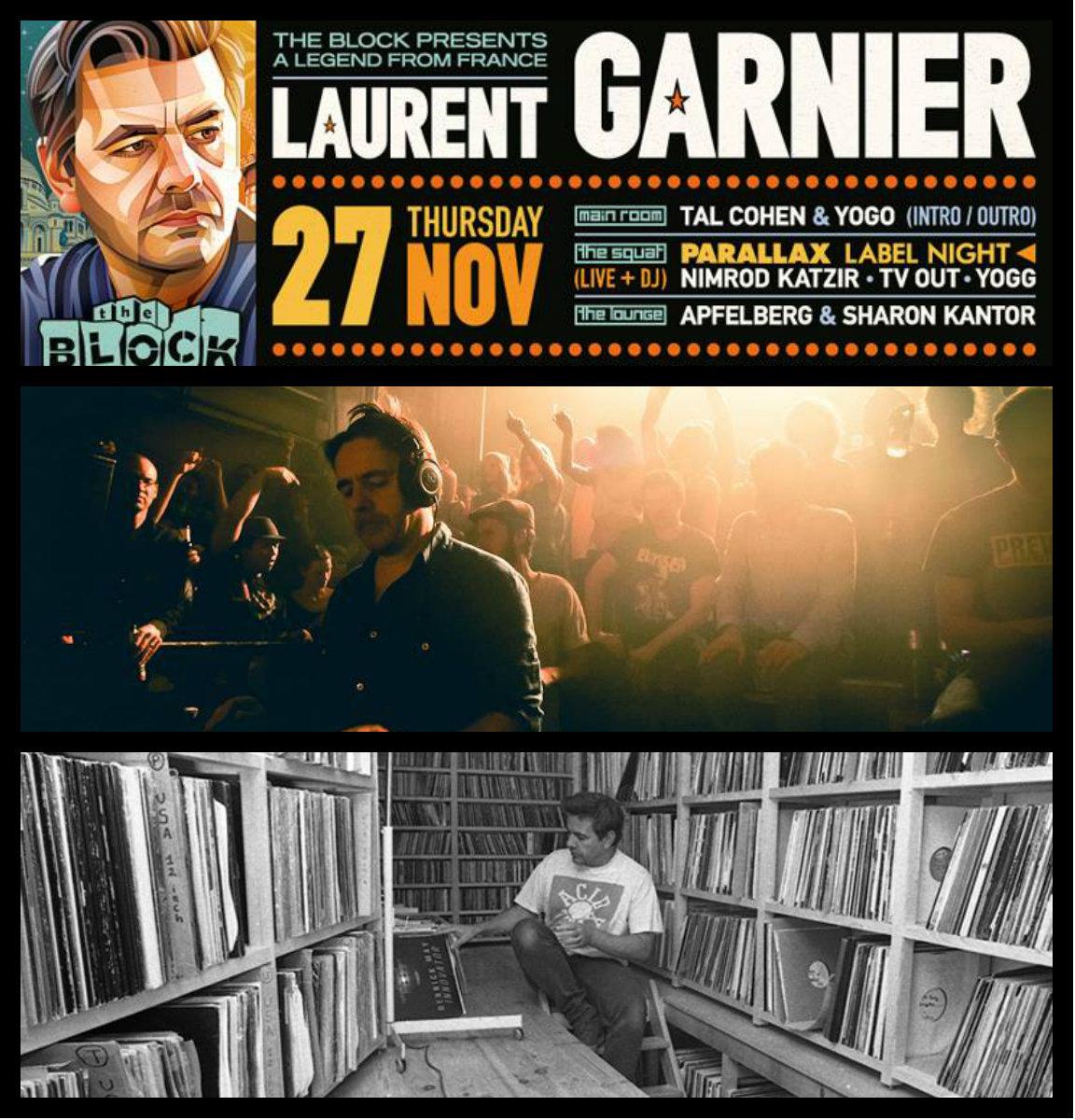 Laurent Garnier @ Tel-Aviv