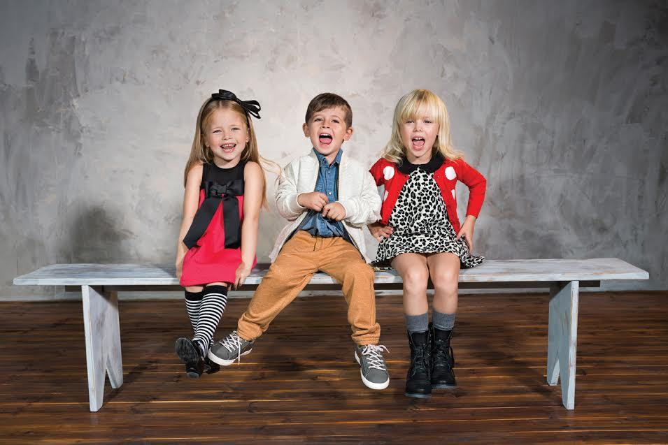 Маленькие модники наряжаются в Honigman Kids