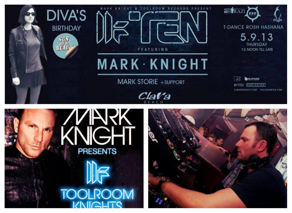 Mark Knight в Тель-Авиве