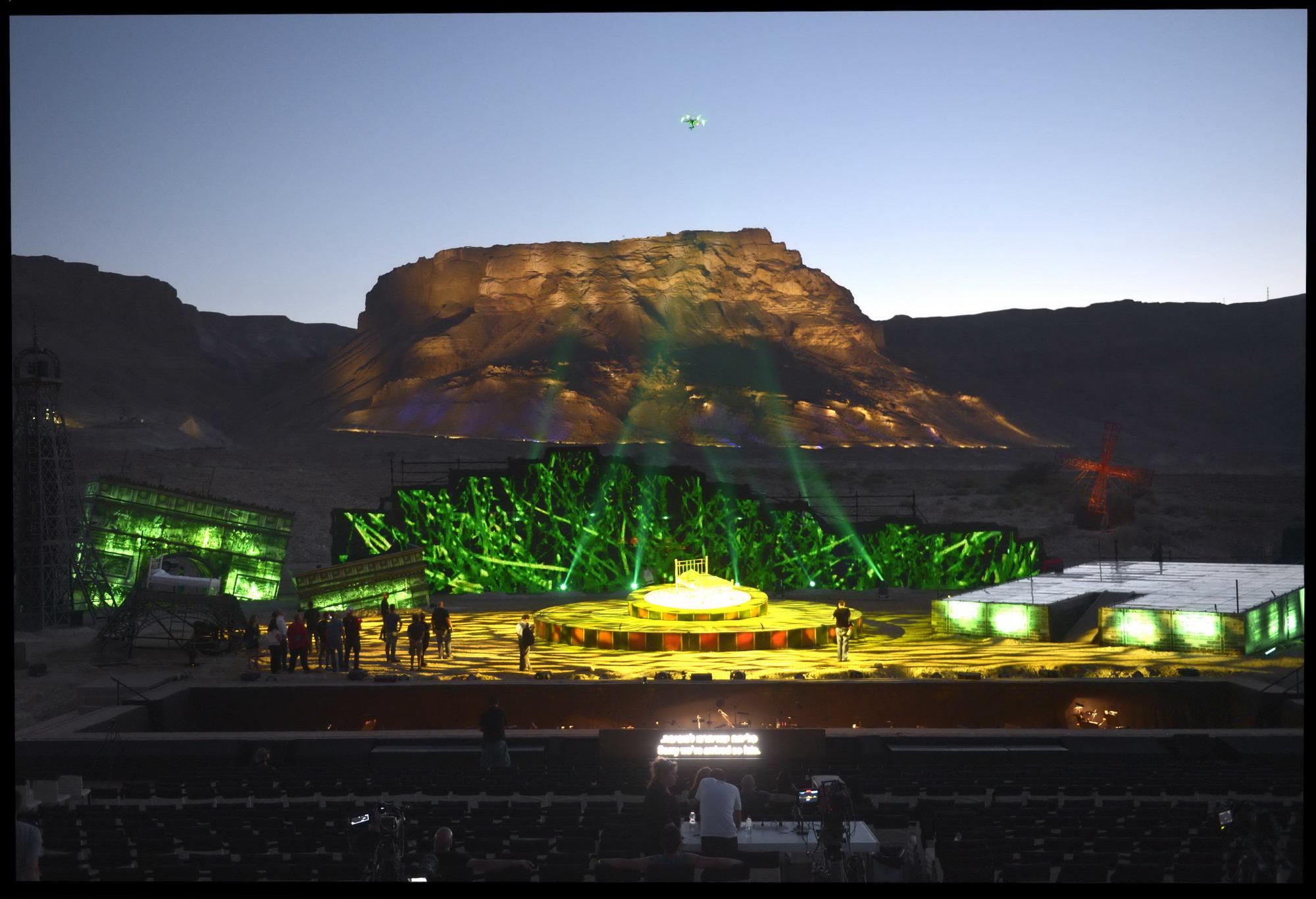 Воплощенная мечта о музыке в пустыне