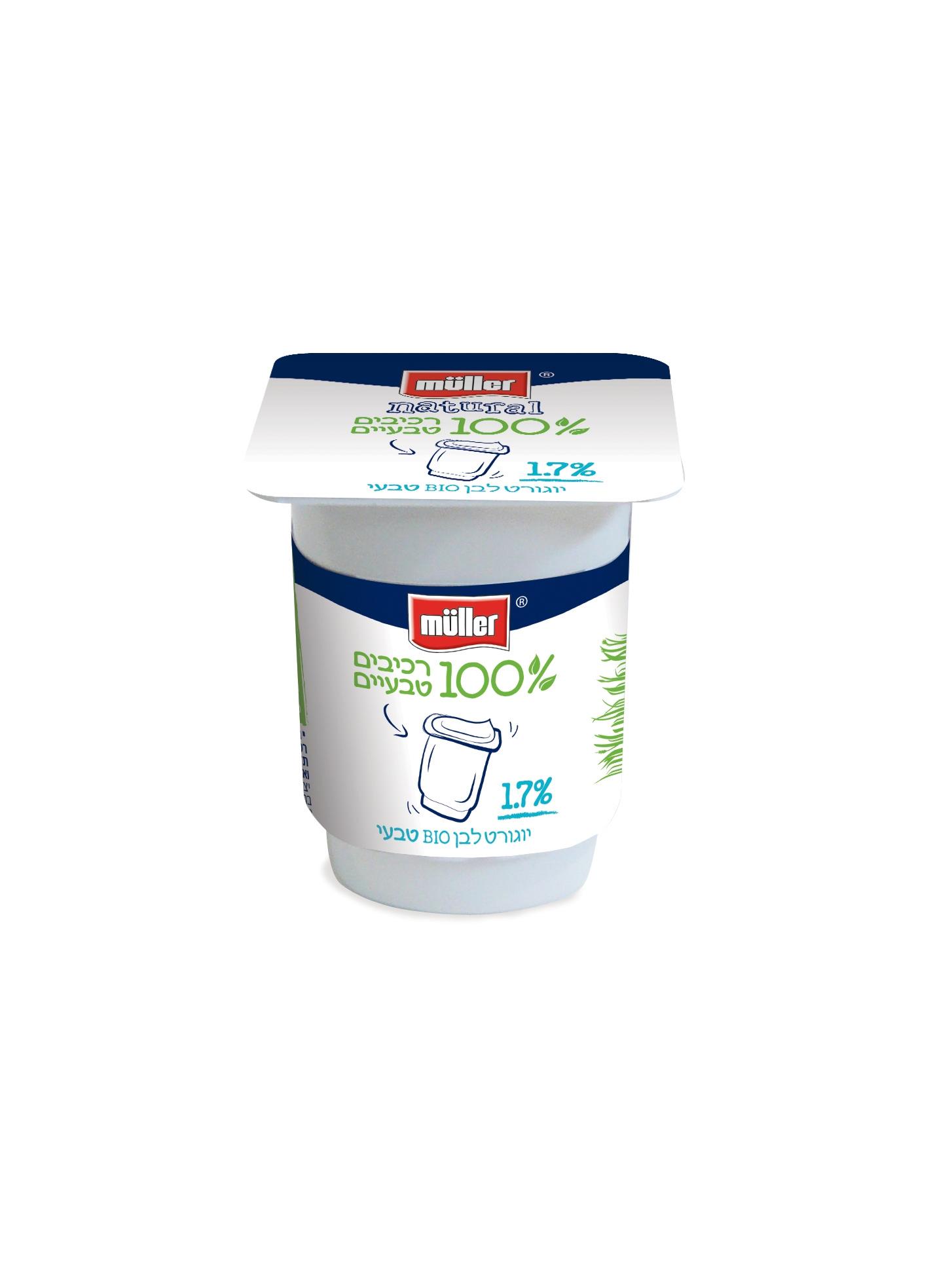 Легкий йогурт Bio Natural от Muller