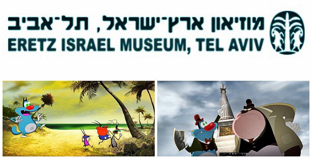 """Песах в музее """"Эрец-Исраэль"""" в Тель-Авиве"""