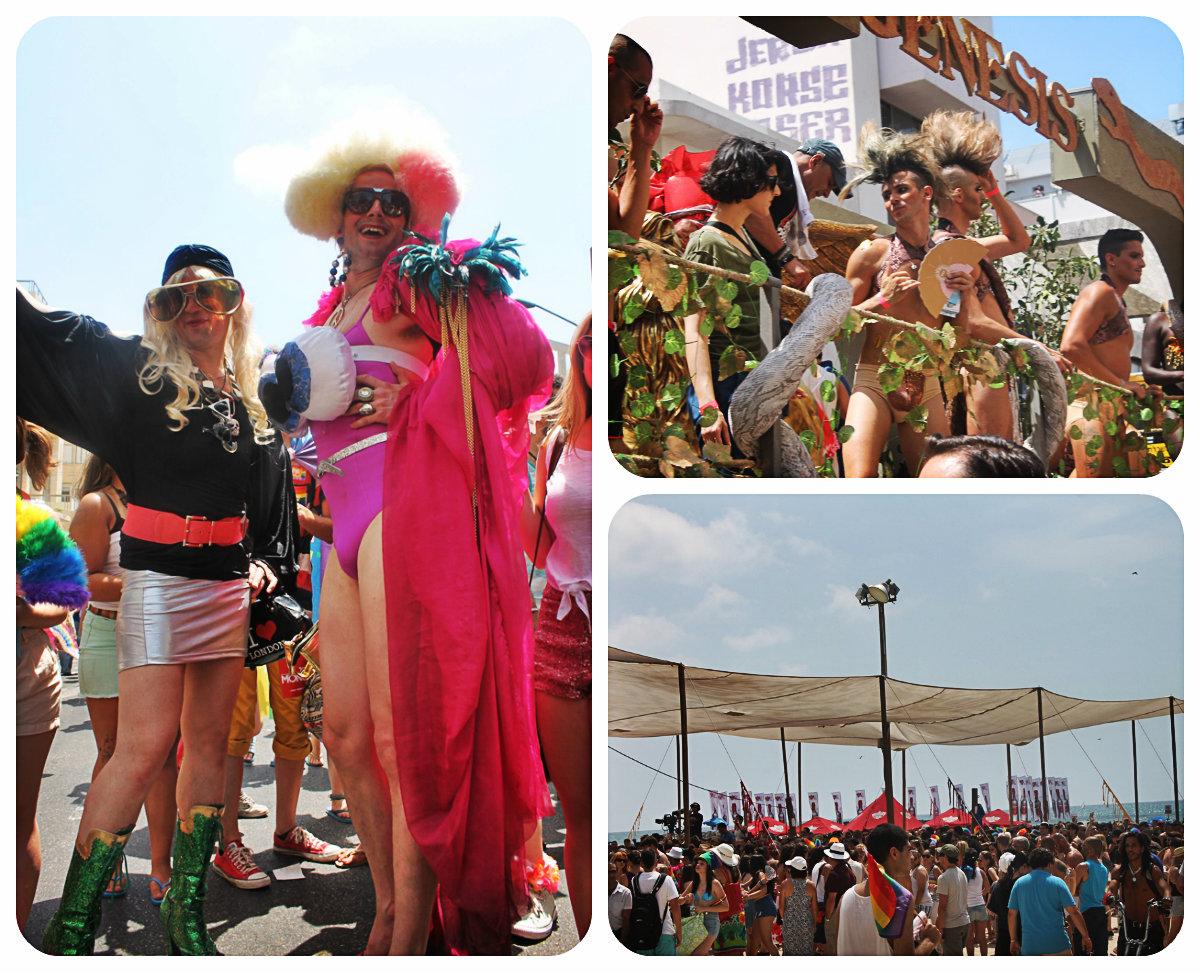 Pride Parade в Тель-Авиве