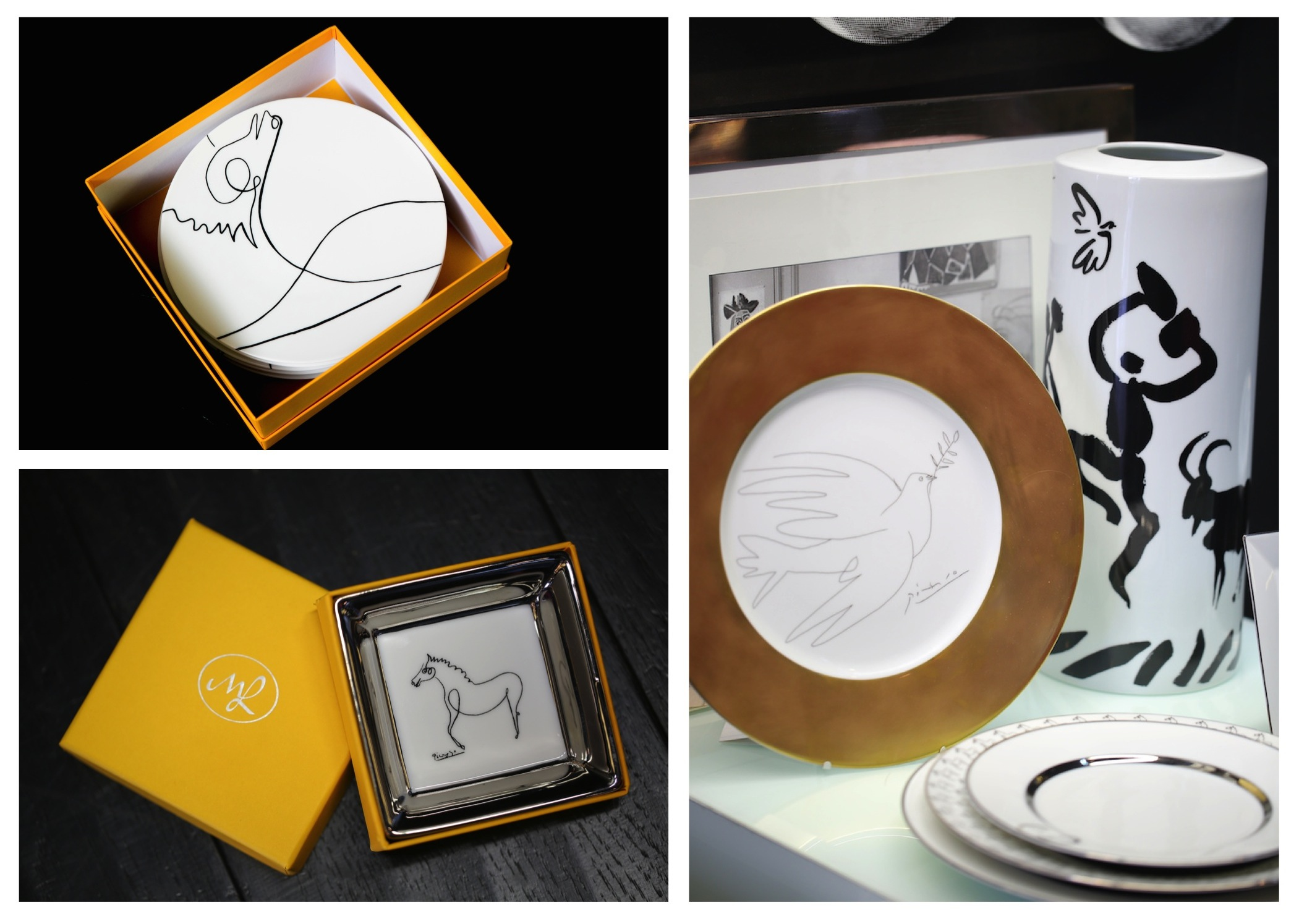 Эксклюзивная посуда с рисунками Пикассо в бутиках Renby
