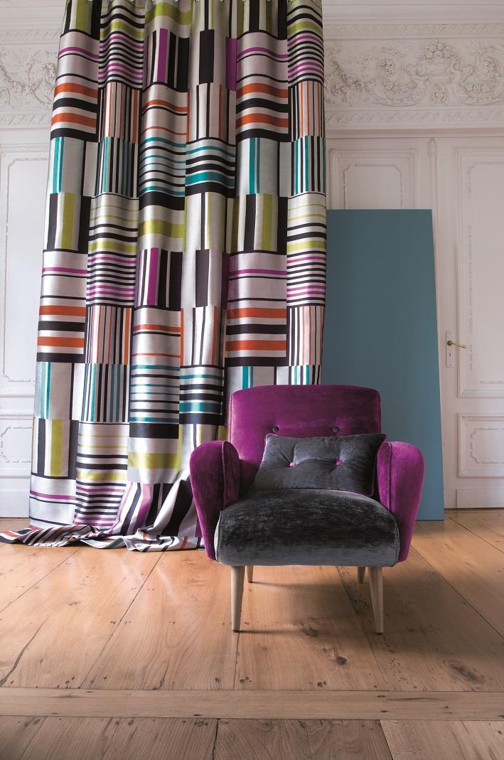 Цветные шторы – главный тренд интерьерной моды