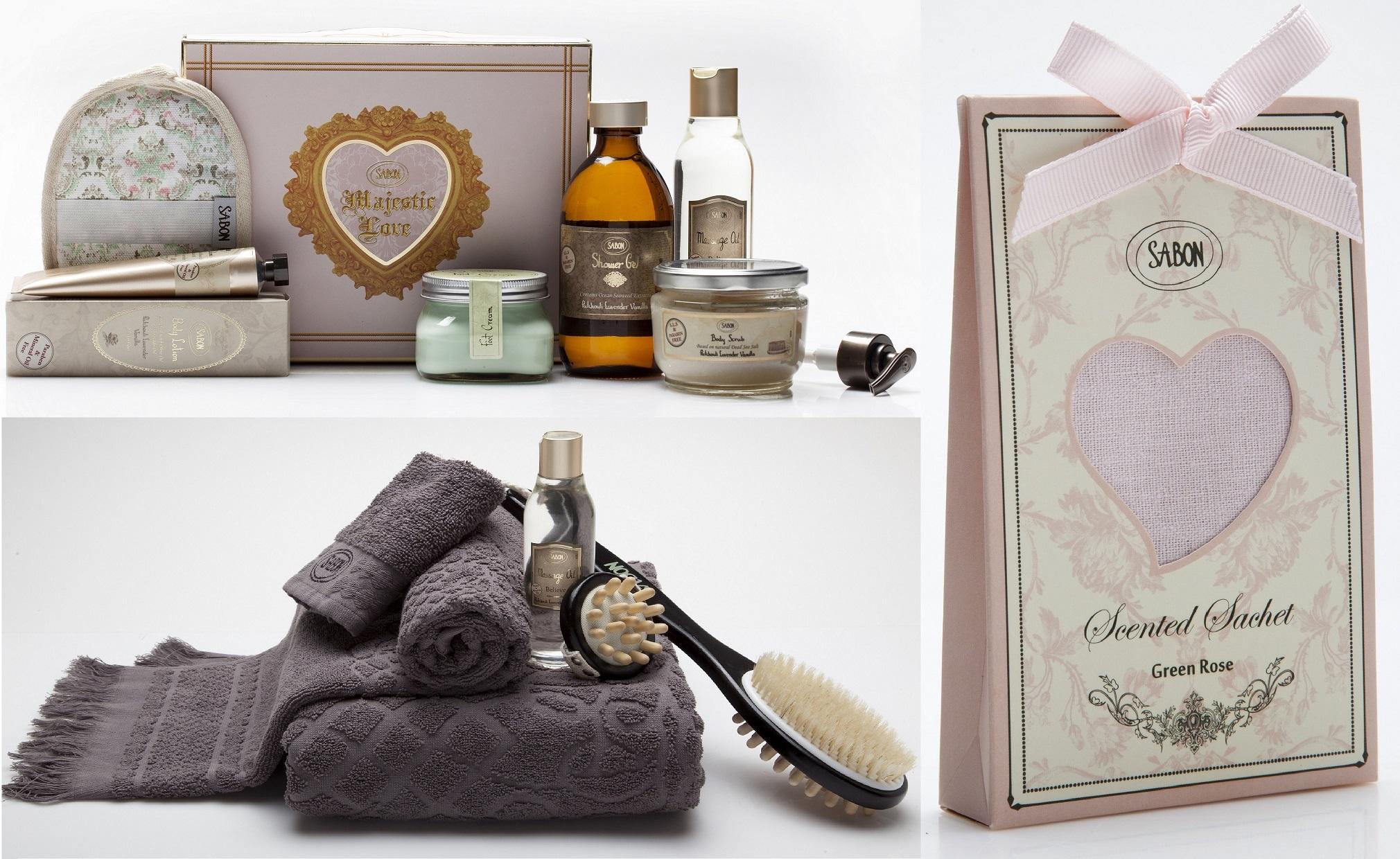 Любовные истории от Sabon: подарки ко Дню всех влюбленных