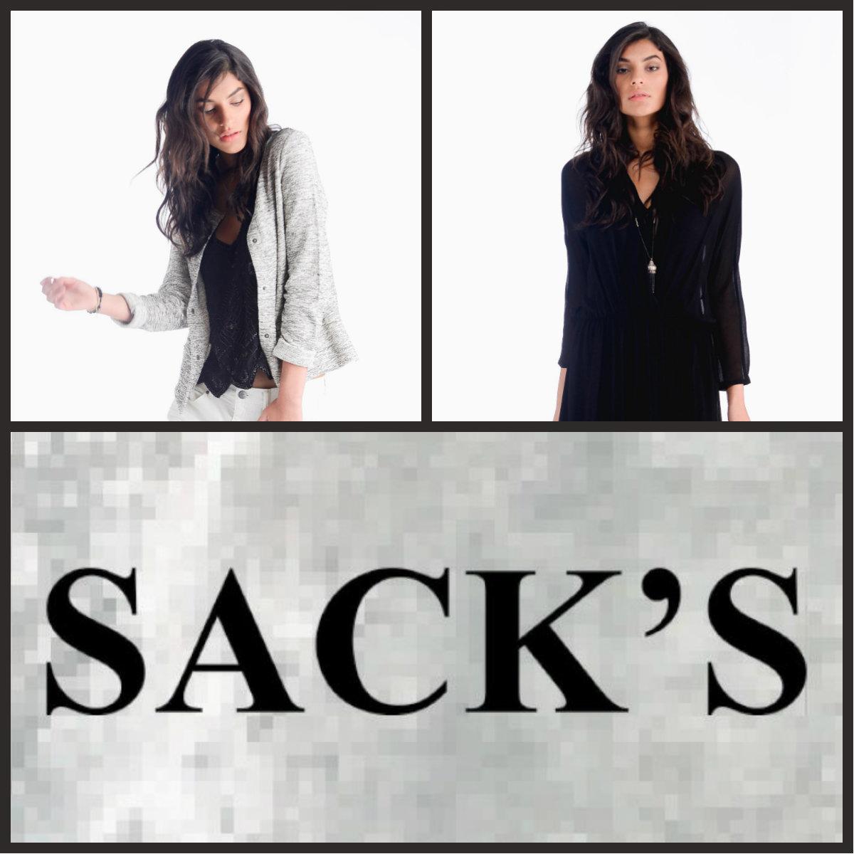 «SACK'S»: скидки 40% на зимнюю коллекцию 2014/15