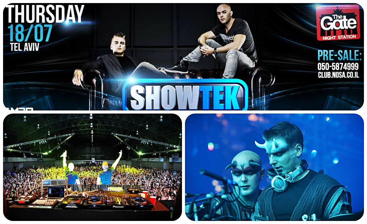Showtek в Тель-Авиве