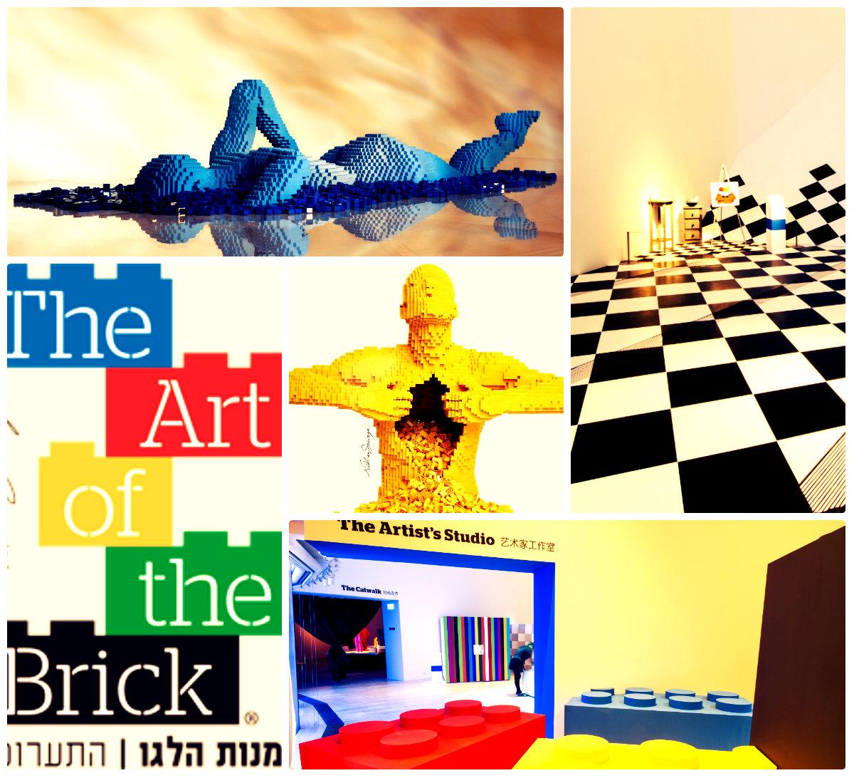 Международная выставка LEGO-скульптур