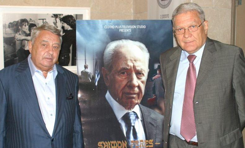 Премьера фильма о Шимоне Пересе будет показана на RTVi