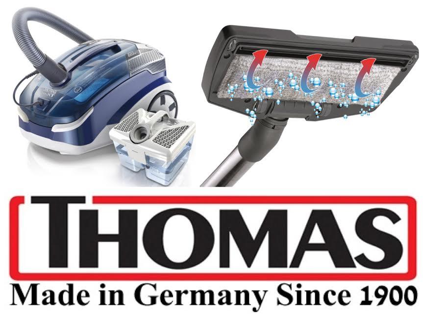 Thomas: немецкий «паркетник» вдвое сокращает время уборки