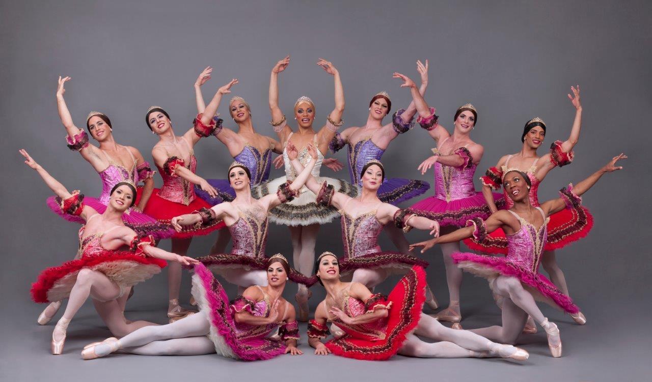 «Les Ballets Trockadero» – мужская комическая труппа русского балета