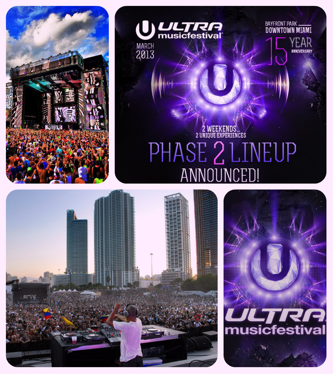 Ultra Music Festival 15 Years Anniversary